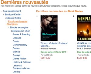 Triumph is a #1 New Release today!